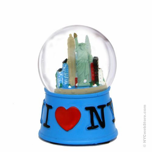 I Love Ny Snow Globe Souvenir From New York City