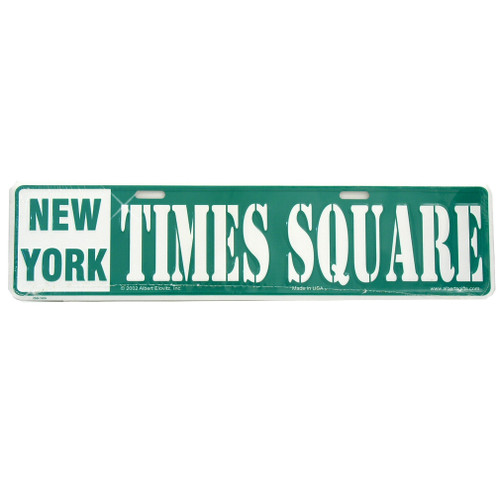 Times Square Street Sign