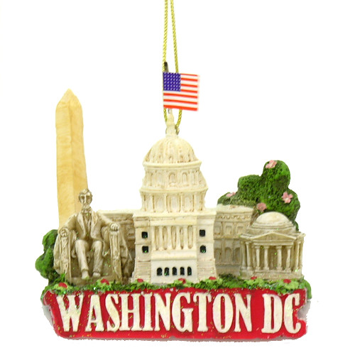 dc christmas ornament