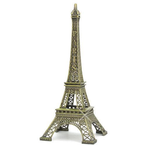 24 Inch Metal Eiffel Tower Statue, Executive Statues