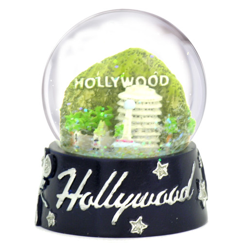 Hollywood snow globes with Hollywood Sign