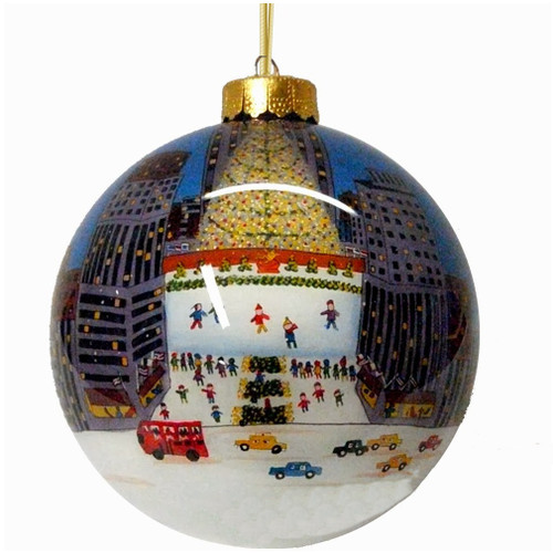Rockefeller Center Christmas Ornaments from New York City