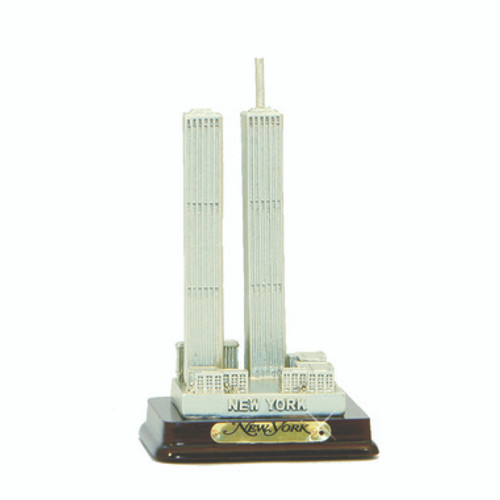 4 Inch Twin Towers Statue Replica