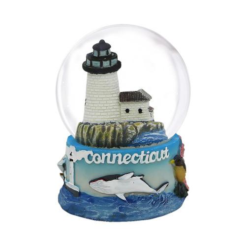 65mm Connecticut Snow Globe