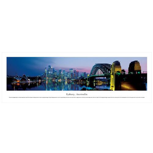 Panoramic Sydney, Australia  Skyline Poster