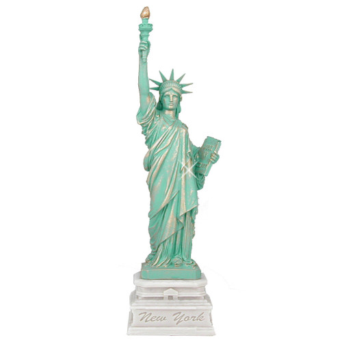 14 Inch Statue of Liberty Marble Statue