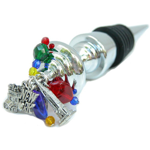 New York City Wine Bottle Stopper