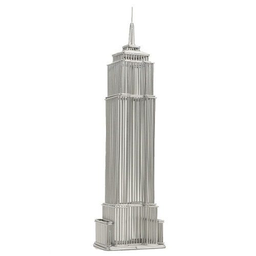 Empire State Building Statue, wire models