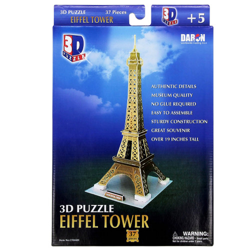 Eiffel Tower 3D Puzzle