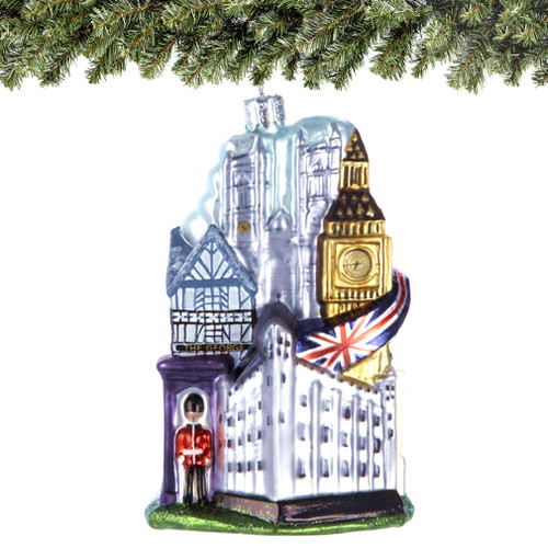 London Glass Ornaments