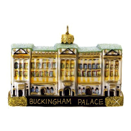 Buckingham Palace Glass Ornament