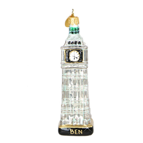 Big Ben Christmas Ornaments, Glass