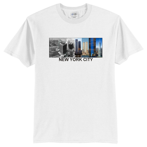 Twin Towers to Freedom Tower T-shirts