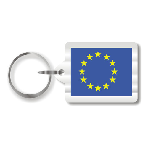 European Union Flag Key Chain