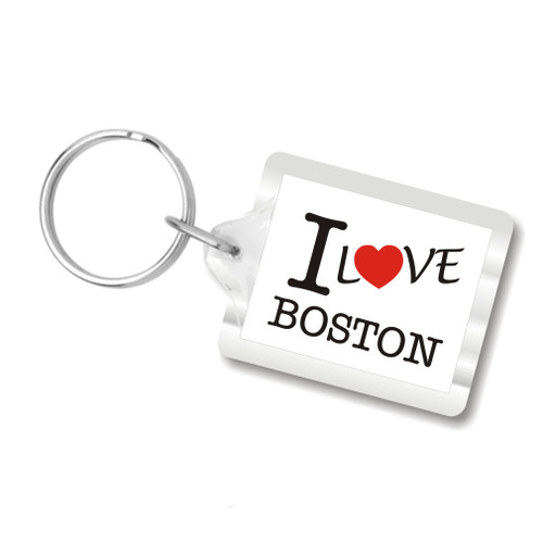 I Love Boston key chains, I Heart Boston