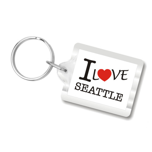 I Love Seattle Keychains (I heart Seattle)
