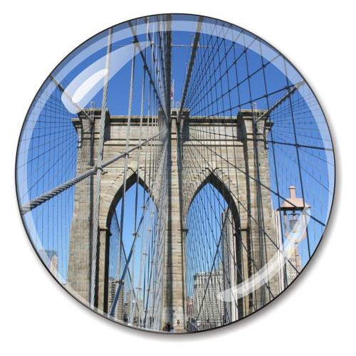 Brooklyn Bridge Crystal Paperweight