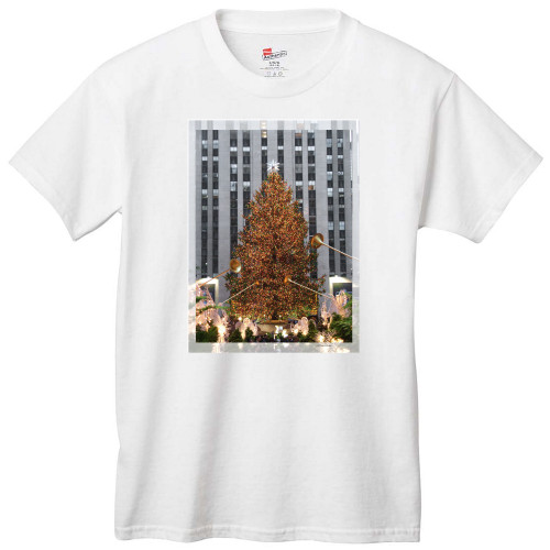 Rockefeller Center Christmas Tree T-Shirts and Sweatshirts