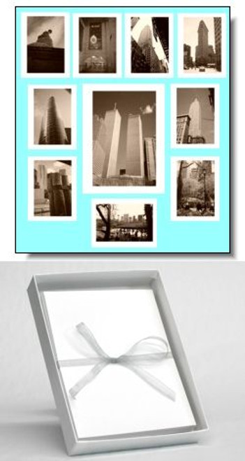 New York City at a Glance Note Cards - Set of 10