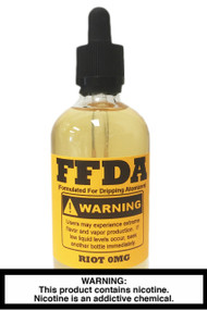 FFDA Vape Juice: Riot 120ml