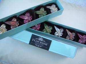 5 Piece box of Fleur de Lys