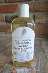 Lavender Vanilla Calming Baby Oil