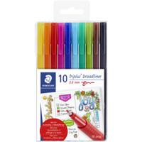 Staedtler - Triplus Broadliner Pens - Set of 10