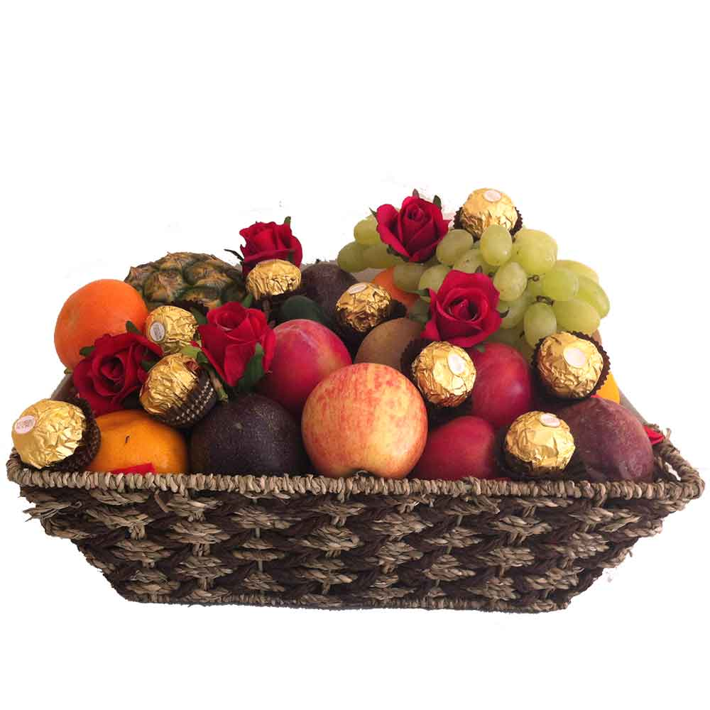 Mothers day fruit hamper gifts igift pty ltd mothers day fruit basket negle Image collections