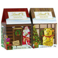 Lindt Chocolate Teddy & Santa House