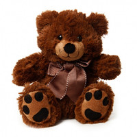 Roly Teddy Bear Dark Brown - Gift Hamper Bear