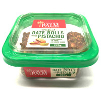 Medjool Date Rolls Pistachio - Golden Palm - 225g