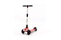 Adjustable LED Ride On Push Scooter