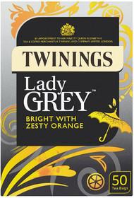 Twinings Lady Grey Tea 50 Pack