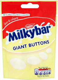 Milky Bar Giant Buttons Pouch 120g