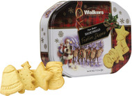 Walkers Festive Shapes Shortbread Tin 350g