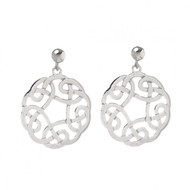 Celtic Knot Hanging Earrings