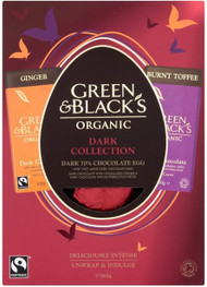 Green & Blacks Organic Dark Chocolate Egg 365g