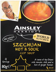 Ainsley Harriott Cup Soup - Szechuan Hot & Sour 3 Pack
