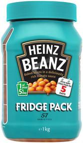 Heinz Baked Beans Fridge Pack 1Kg