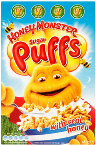 Honey Monster Puff's Cereal 320g