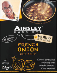 Ainsley Harriott Cup Soup 3 Sachet Pack - French Onion 81g