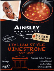 Ainsley Harriott Cup Soup - Minestrone 96g 3 Pack