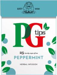 PG Tips Peppermint Tea 25 Pack