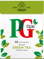PG Tips Pure Green Tea 25 Pack
