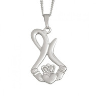 Celtic And Claddagh Pendant With Chain