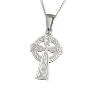 Small Double Sided Pendant With Chain