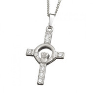 Celtic Cross And Claddagh With Chain