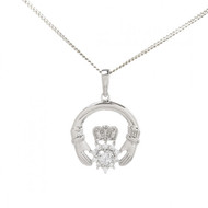 Claddagh Pendant And Chain