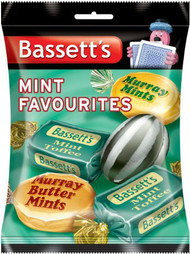 Bassetts Mint Favourites 200g