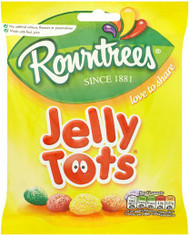 Rowntree Jelly Tots Large Share Bag 160g